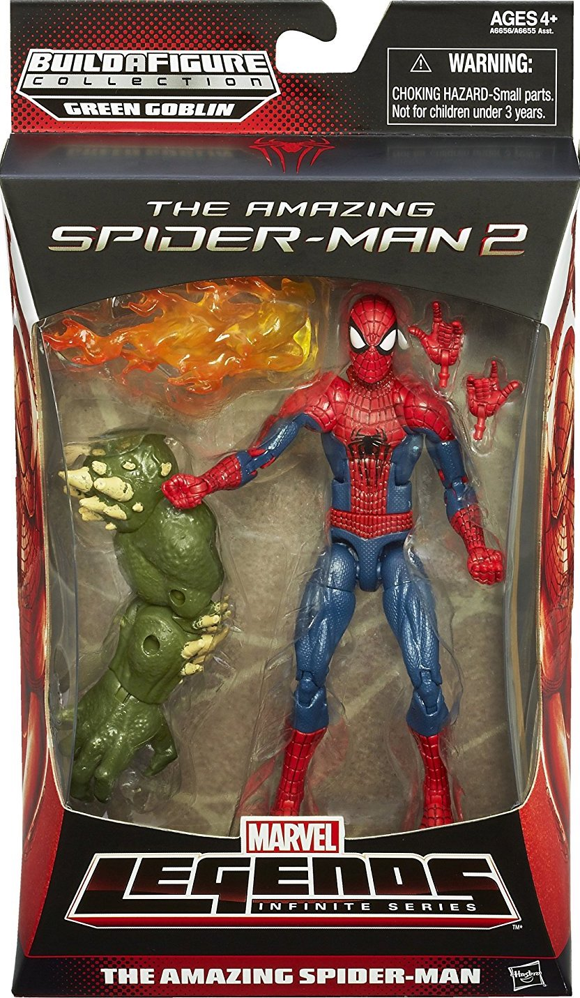 Marvel The Amazing Spider-Man 2 Legends Infinite Series Action Figure Hasbro A6655