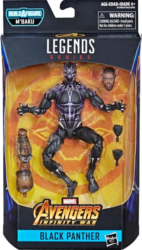 Black Panther Marvel Legends Wave 2 Set of 6 Figures BAF M/'Baku