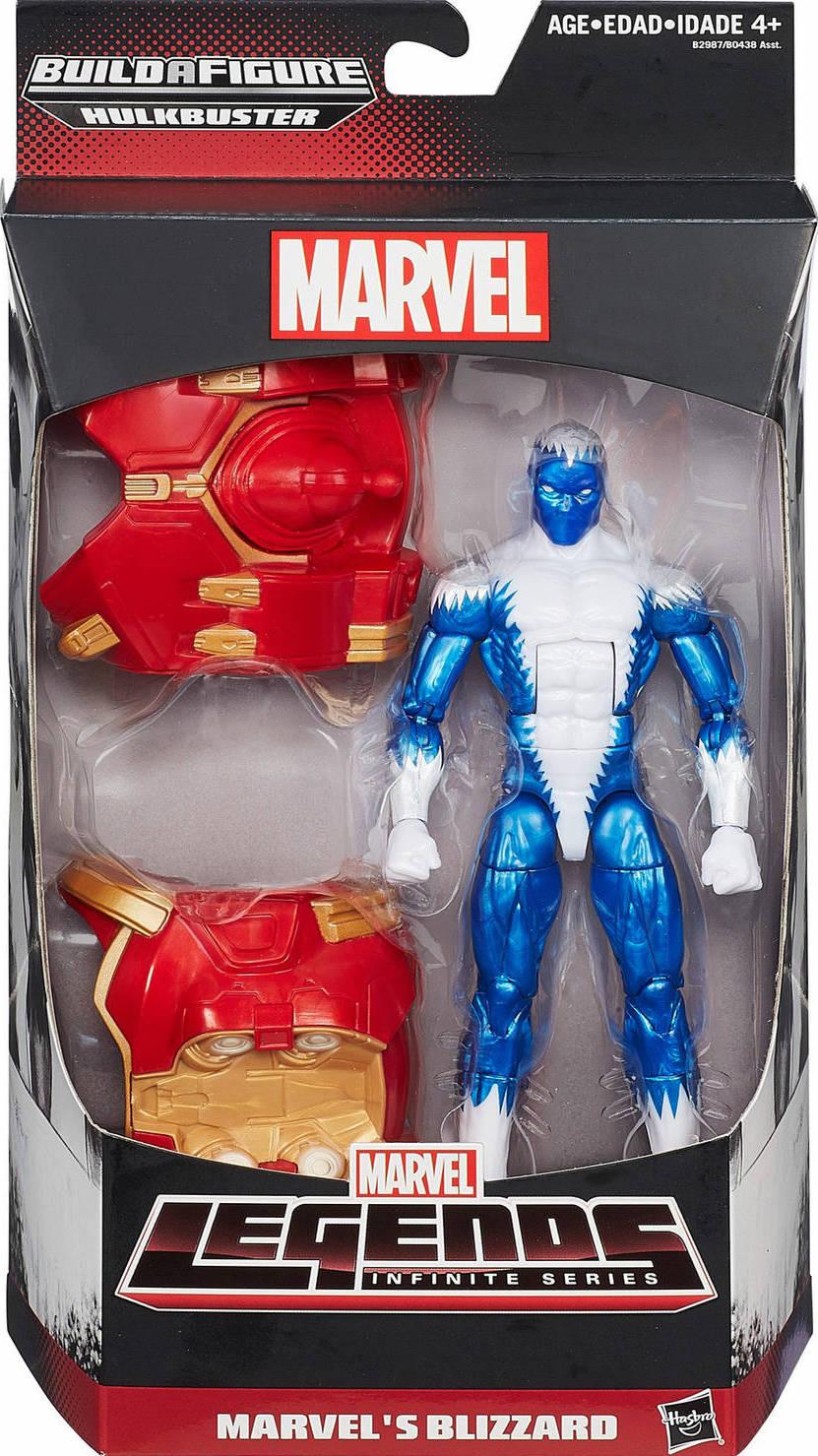 Marvel Legends Infinite Series Marvel/'s Blizzard Hulkbuster BAF NEW//SEALED