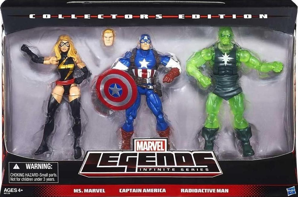 "Marvel Legends infinite series 3 pack Radioactive man 6/"" figure Target exclusive"
