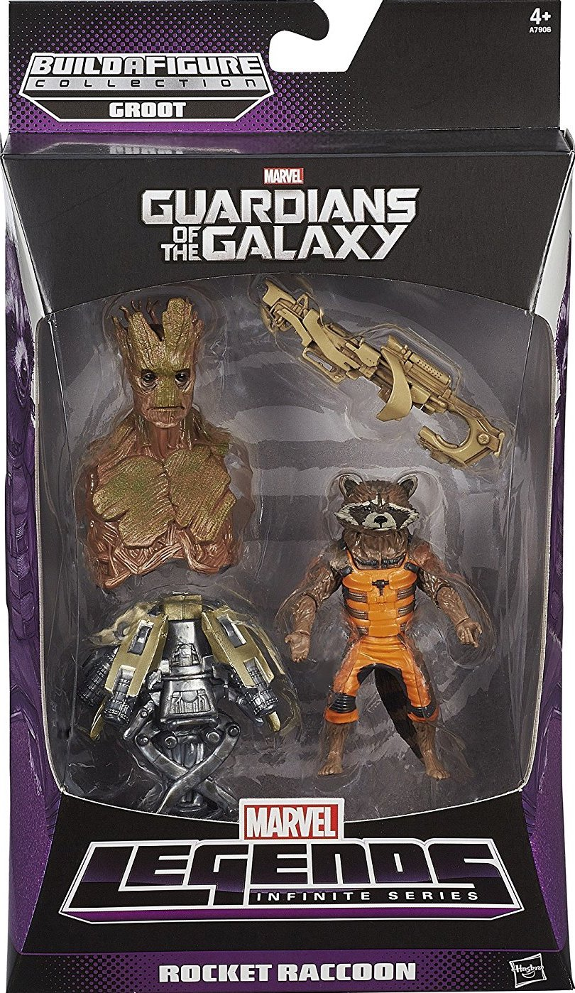 Marvel Legends Rocket Raccoon BAF Groot, 2013