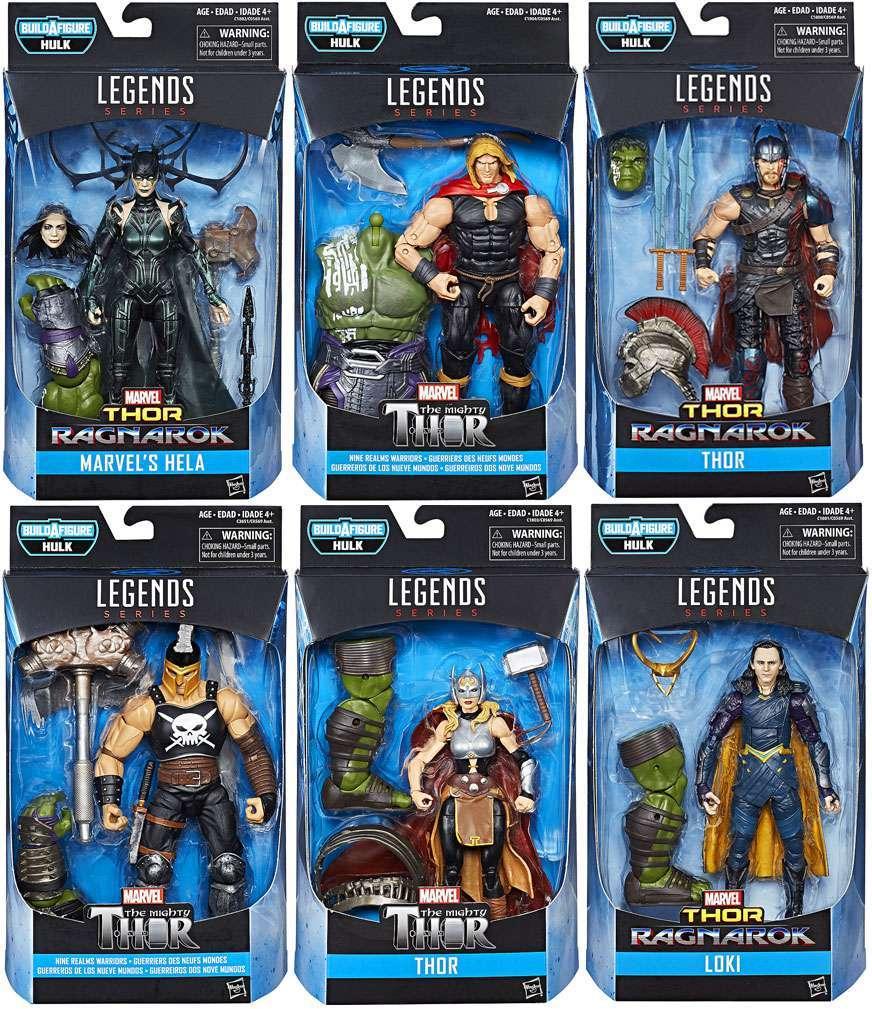 Thor Action Figure Jane Foster Ragnarok Marvel Legends Hulk Series Thor