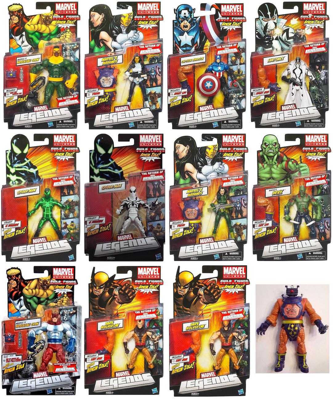 Marvel Legends Arnim Zola Series Madame Viper Action Figure Green Suit Variant