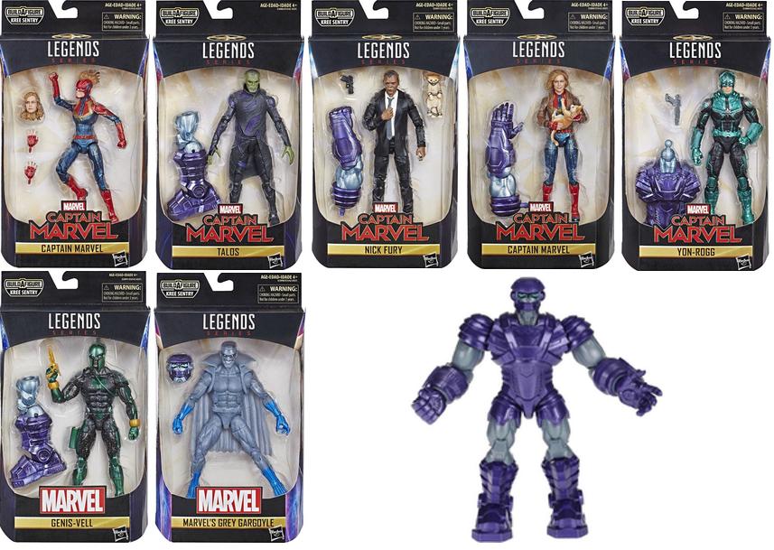 Marvel Legends NEW Captain Marvel Kree Sentry BAF Figure Hasbro Genis-Vell