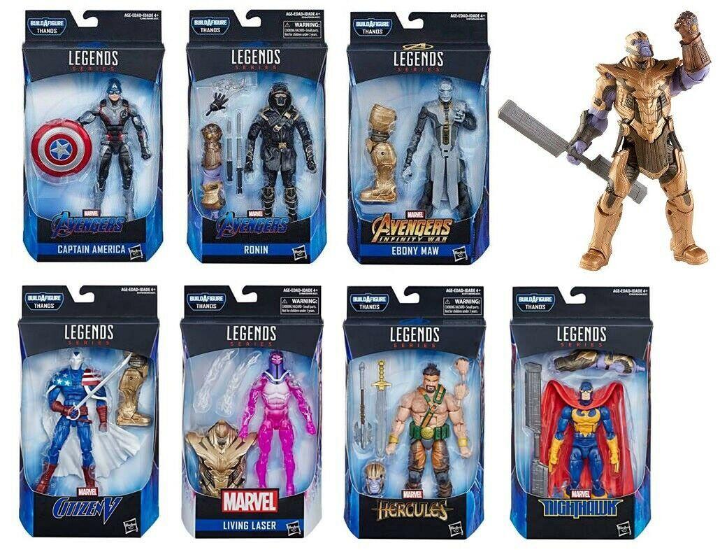 LOOSE NO BAF-IN STOCK Marvel Legends  Avengers Endgame CITIZEN V Armored Thanos