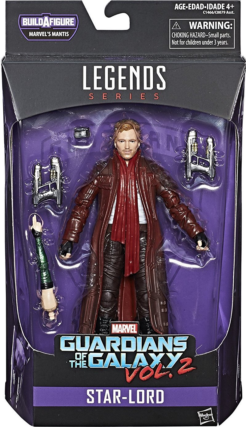 "Marvel Legends  Guardians of the Galaxy  STAR-LORD 6/"" Action Figure"