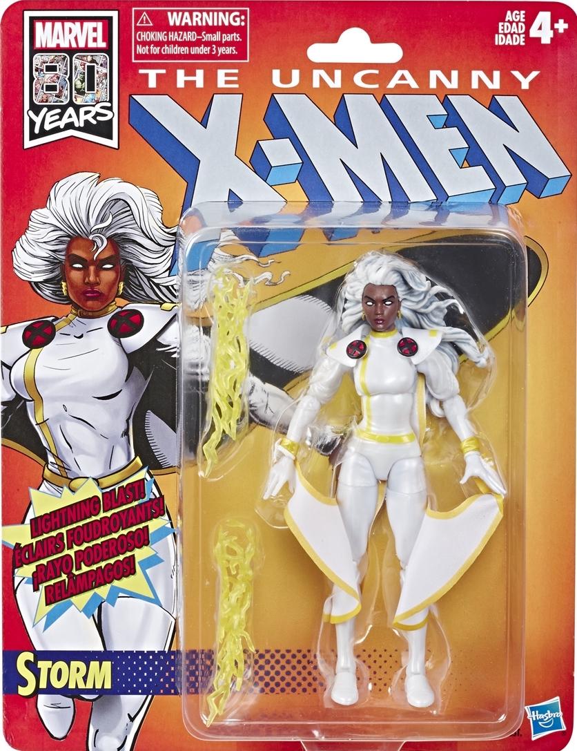 Marvel Legends Vintage X-men Retro Black Outfit Storm In Stock NEW