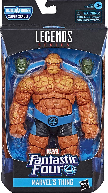 """Marvel Legends 6/"""" Inch Super Skrull BAF Wave Fantastic 4 Thing Loose Complete"""