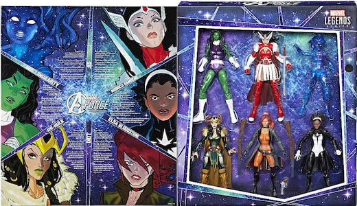 A Force Heroines 6 Pack