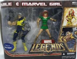 Cable & Marvel Girl 2 Pack