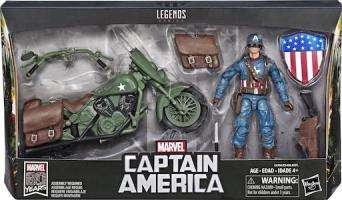 Captain America & Motorcycle