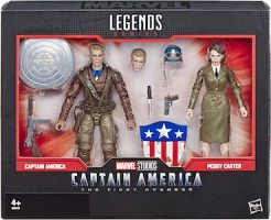 Captain America & Peggy Carter 2 Pack