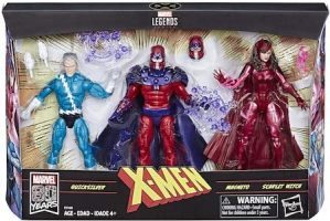 Family Matters 3 Pack with Magneto, Quicksilver, & Scarlet Witch