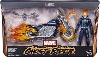 Ghost Rider & Motorcycle