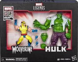 Hulk vs Wolverine Two-Pack