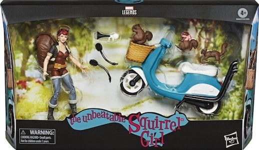 Squirrel Girl & Motorcycle