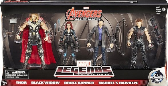 Avengers Age of Ultron 4 Pack