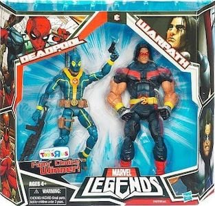 Deadpool & Warpath Fan Choice (Blue Variant)