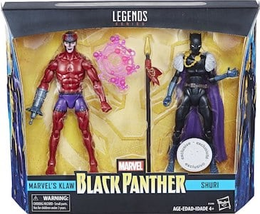 Klaw and Shuri 2 Pack