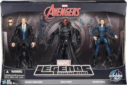 Marvel Avengers Legends Agents of Shield 3 Pack