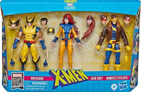 Marvel Legends X-Men Three-Pack