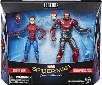 Spider Man and Iron Man Sentry 2 pack