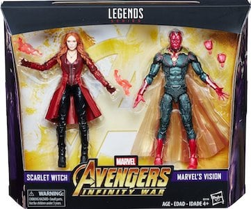 Vision and Scarlet Witch 2 pack