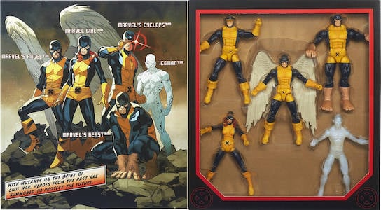 X-Men Original 5 Pack
