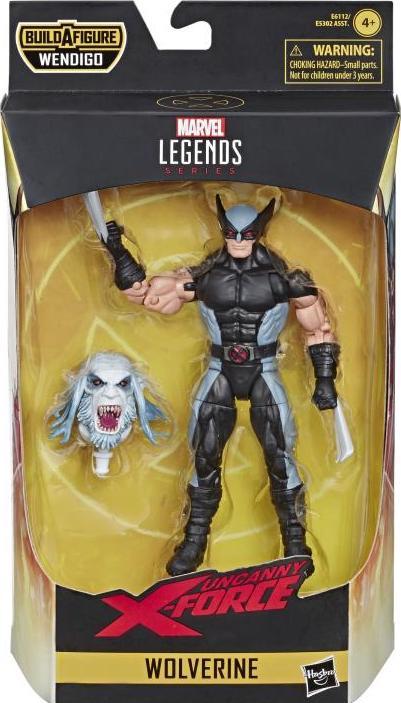 2019 Marvel legends X-Force WAVE 1 WOLVERINE BAF Wendigo NEW EN STOCK!