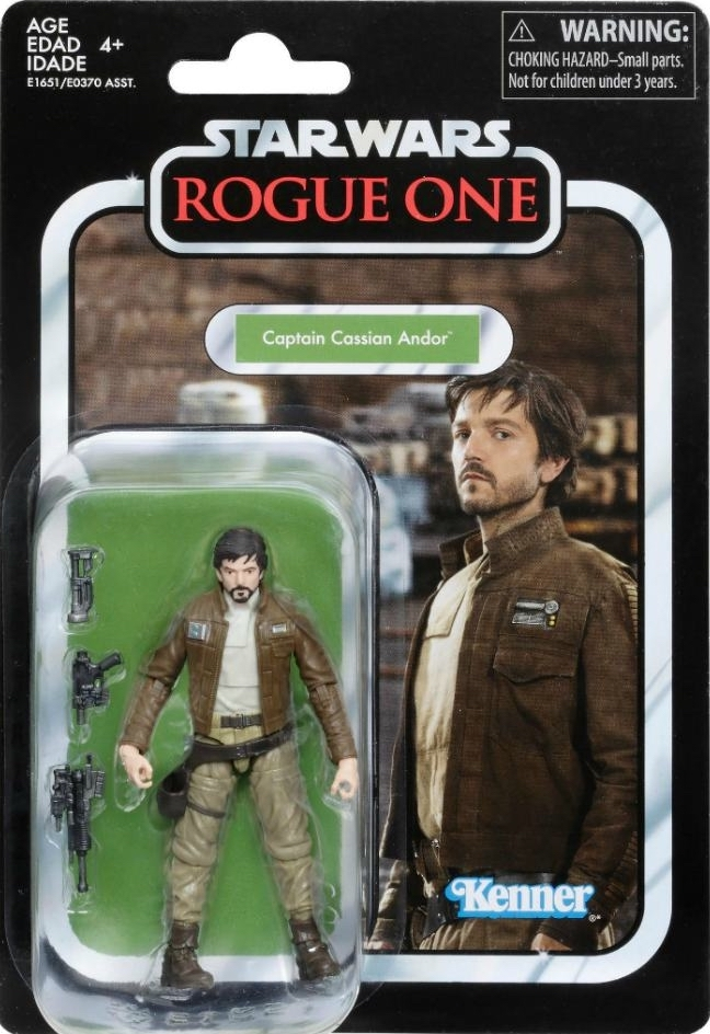 "STAR WARS the vintage collection CAPTAIN CASSIAN ANDOR 3.75/"" Rogue One VC130"