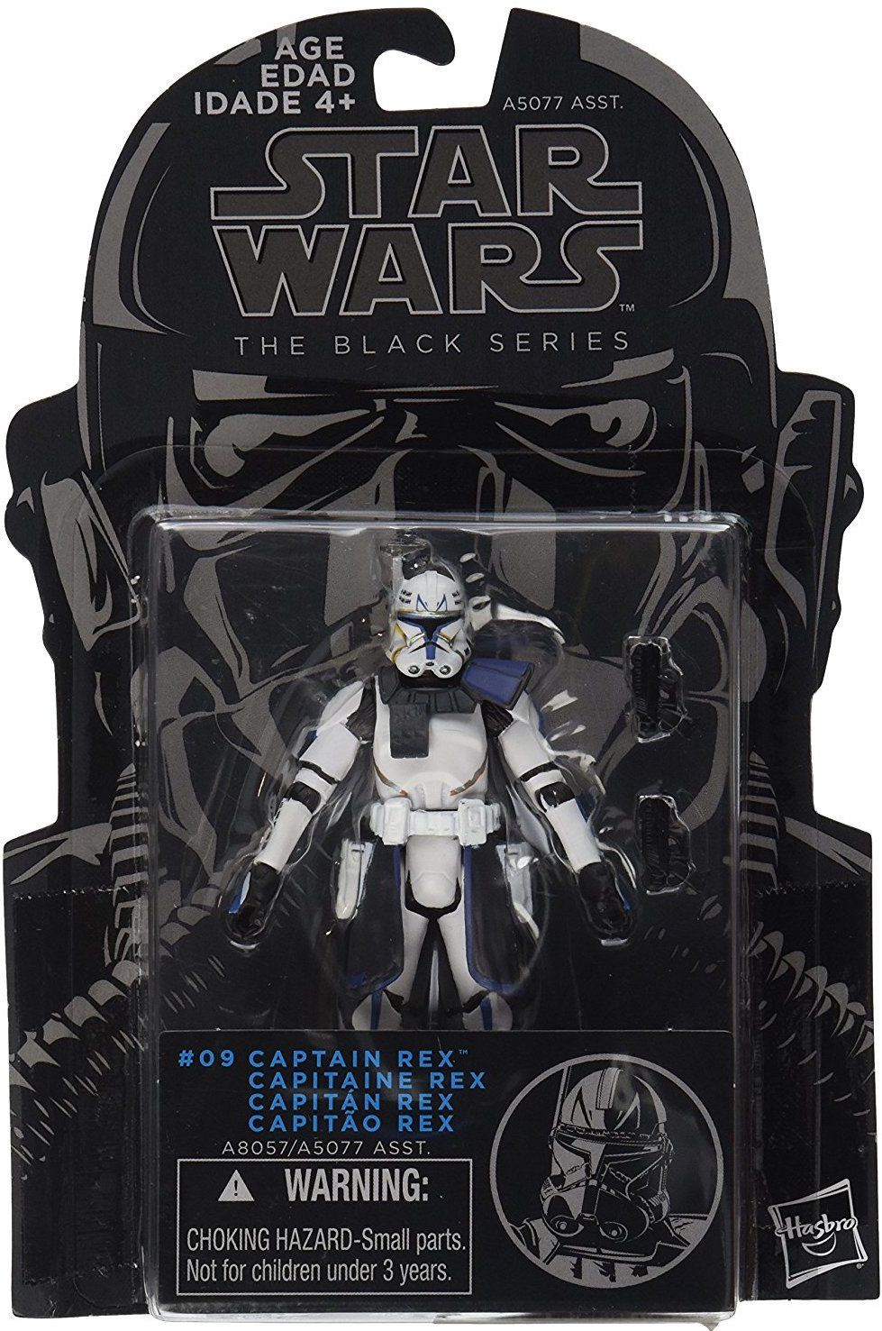 """Capitaine Rex #09 2014 Star Wars The Black Series 3.75/"""" New Comme neuf on Card"""