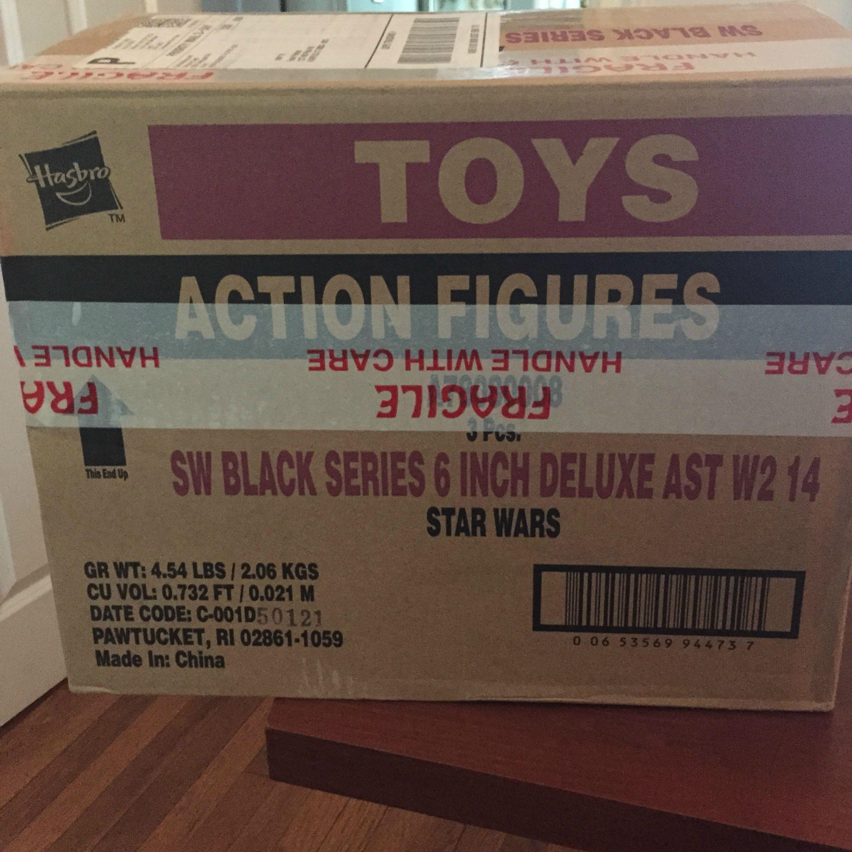 "star wars black series DELUXE 6/"" SPEEDER BIKE /& BIKER SCOUT NEW IN sealed BOX"
