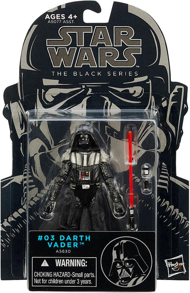 Darth Vader Revenge Of The Sith Star Wars 3 75 Black Series 23 75