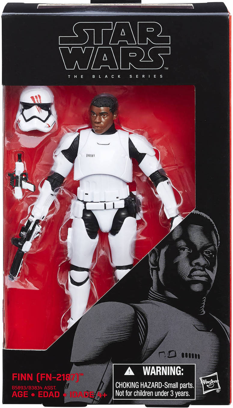 FN-2187 Star Wars THE FORCE AWAKENS FINN CARDED FIGURE