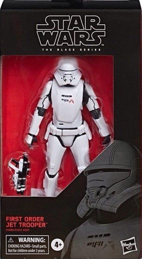 "Star Wars Black Series first order jet trooper 6/"" Scale Action Figure Wave 23"