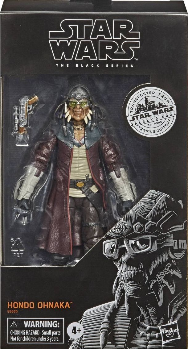 Hondo Ohnaka Star Wars 6 Black Series 39 98