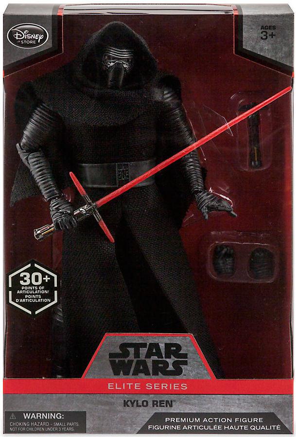 KYLO REN Disney Store Premium Action Figure Collection Details about  /STAR WARS Elite Series