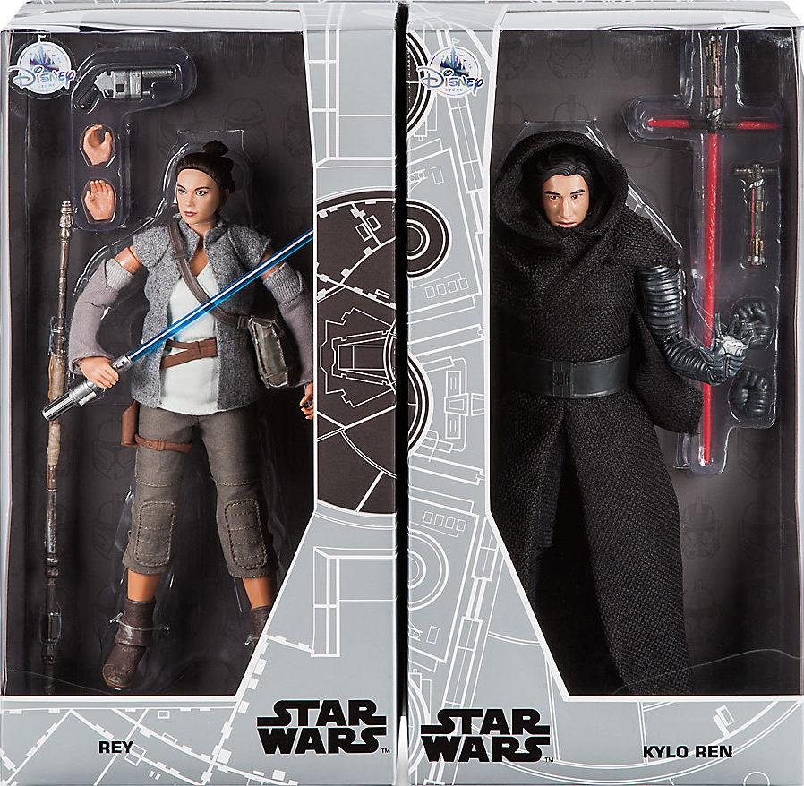 "Disney Store Star Wars Elite Series Kylo Ren 12/"" NIB"