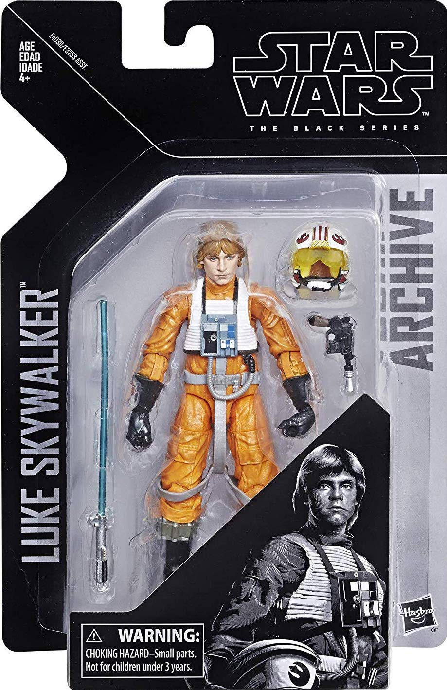 Star Wars Black Series 6 Inch Wave 1 Archive Collection Luke Skywalker In Stock!