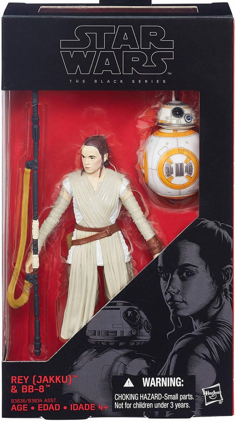 016 Star Wars Black Series 6 inch Rey /& BB-8 w// Lightsaber #02 Force Awakens