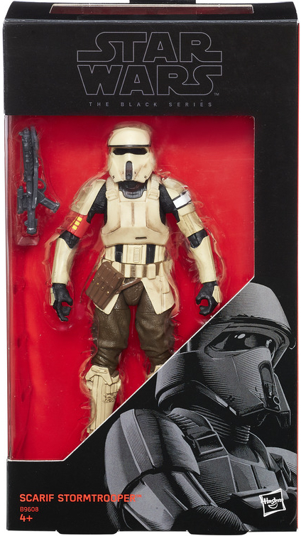 B9608 Scarif Stormtrooper   NIB Star Wars The Black Series 1219K