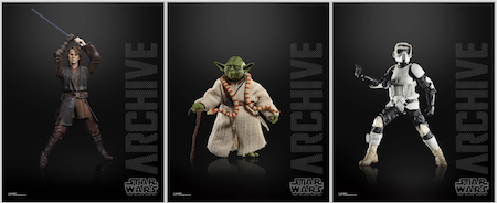 Star Wars Black Series Archive Collection