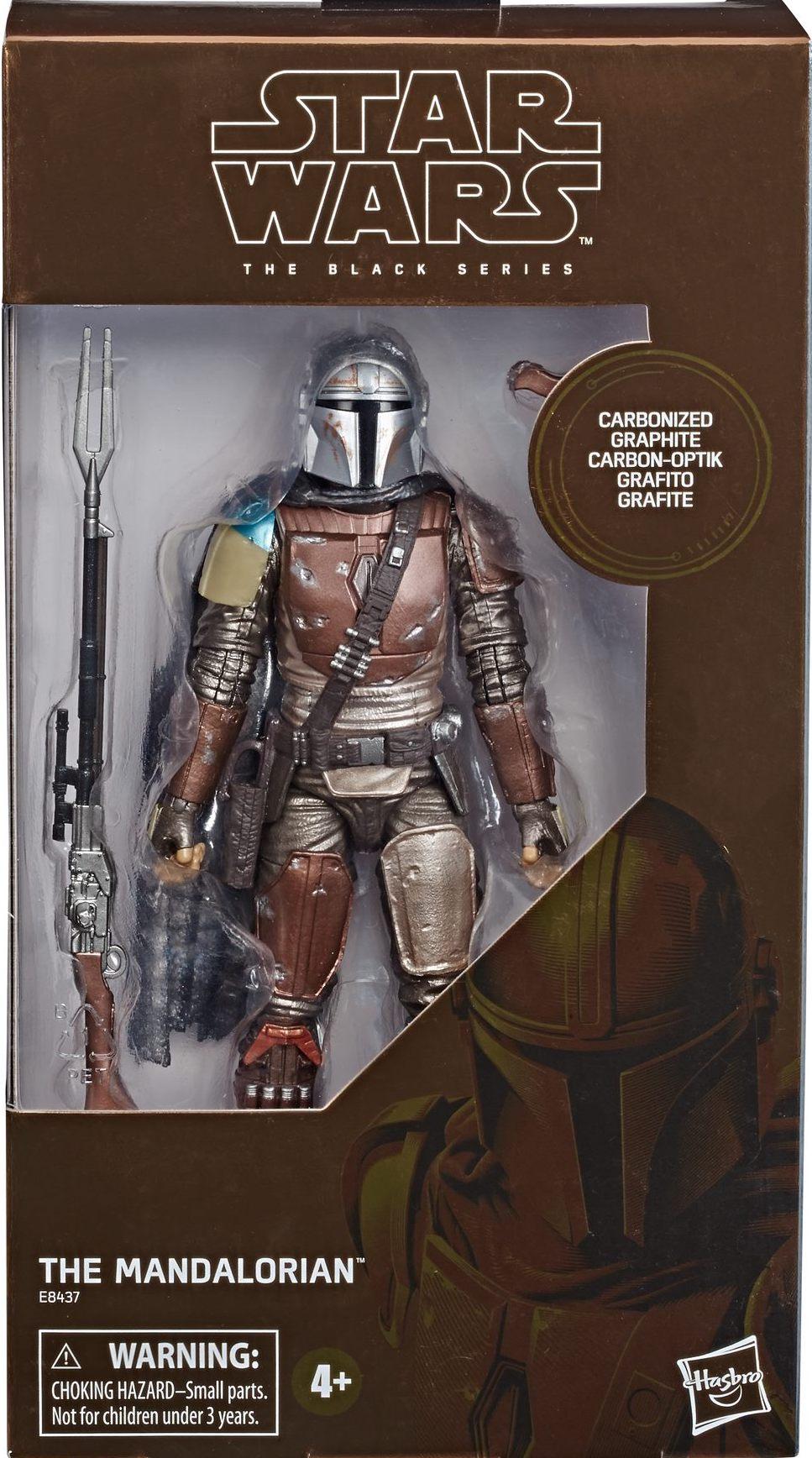 Carbonized Graphite Target Exclusive Star Wars THE MANDALORIAN Black Series