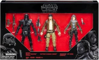 Death Trooper, Captain Cassian, Jyn Erso 3 Pack