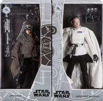 Jyn Erso and Director Krennic