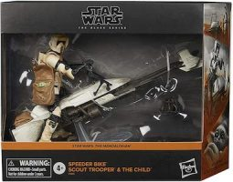 Speeder Bike Scout Trooper and The Child