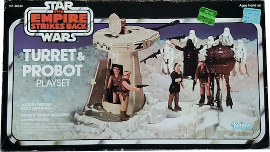Turret & Probot Playset