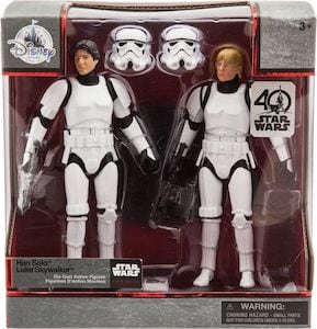Han and Luke Stormtrooper Disguise