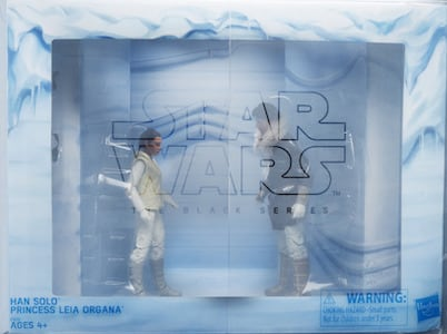Han Solo and Princess Leia Organa on Hoth