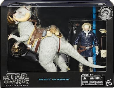 Han Solo and Tauntaun